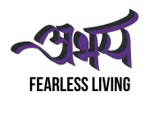 Logo with fearless living